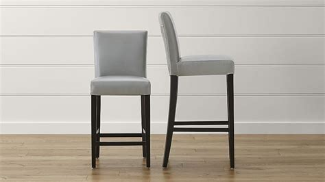 Crate And Barrel Lowe Chair Pewter by 1000 Ideas About Leather Bar Stools On Bar