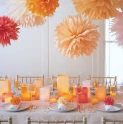 martha stewart weddings pom poms and luminarias martha stewart weddings