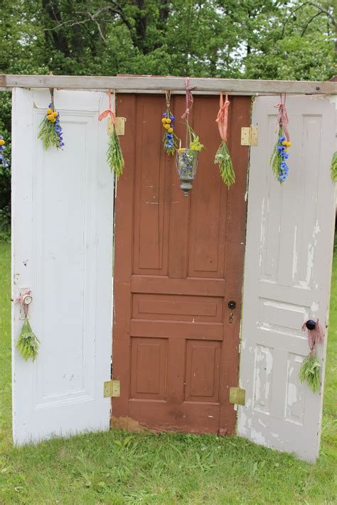 Antique Door Backdrop My Vintageantique Wedding