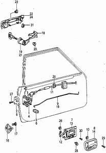 Honda Online Store   1979 Accord Door Lock Parts