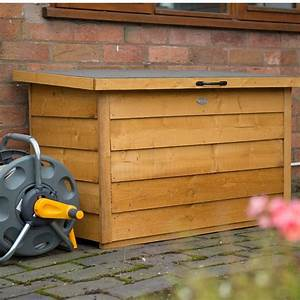 Garden, Wooden, Storage, Box, Outdoor, Solid, Wood, Container, Shed, Patio, Chest, Lid, Deck