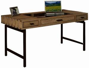 Real wood writing desk
