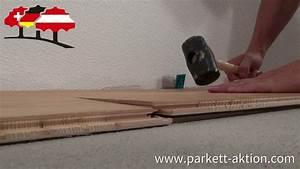 Parkett Auf Fußbodenheizung : video klicksystem auf fu bodenheizung verlegen parkett ~ Michelbontemps.com Haus und Dekorationen