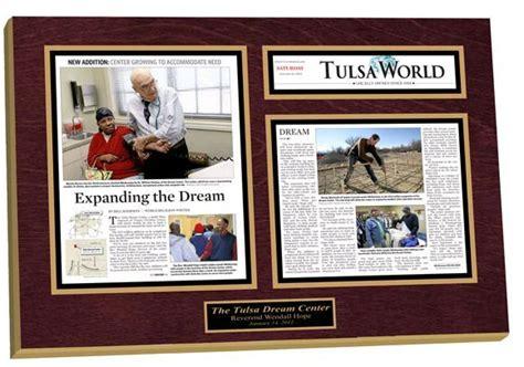 framed newspaper articles pin    news