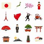 Culture Japanese Japan Icons Flat Vector Lantern