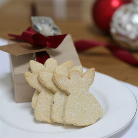 biscuit box of christmas angel shortbread by shortbread