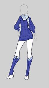 Cute blue anime outfit | Character inspiration | Pinterest | Trips Outfit and Purple