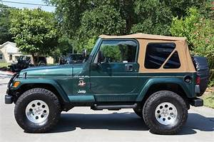 Want A Low Mileage  U0026quot Tj U0026quot  Jeep Wrangler  1999 Green Sahara