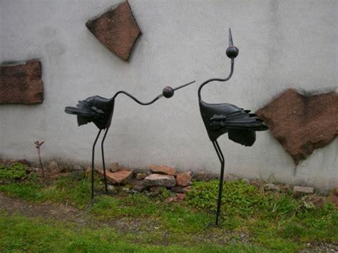 Gartenschmuck Aus Metall by Gartendeko Aus Metall 25 Auff 228 Llige Bilder Archzine Net