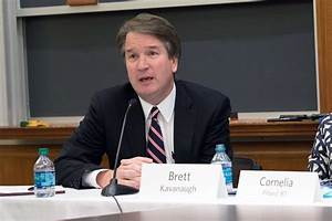 Judge Brett Kavanaugh, HLS Williston Lecturer on Law ...