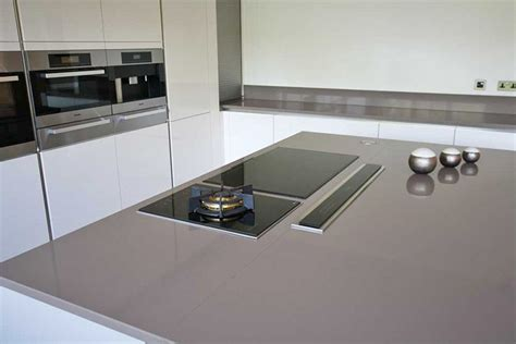 modern kitchen island with hob grey kitchen island with pop up extractor and induction