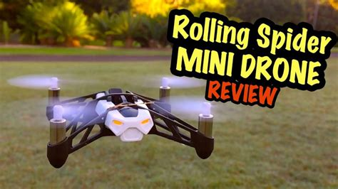 parrot mini drone evaluate  rolling spider drone market