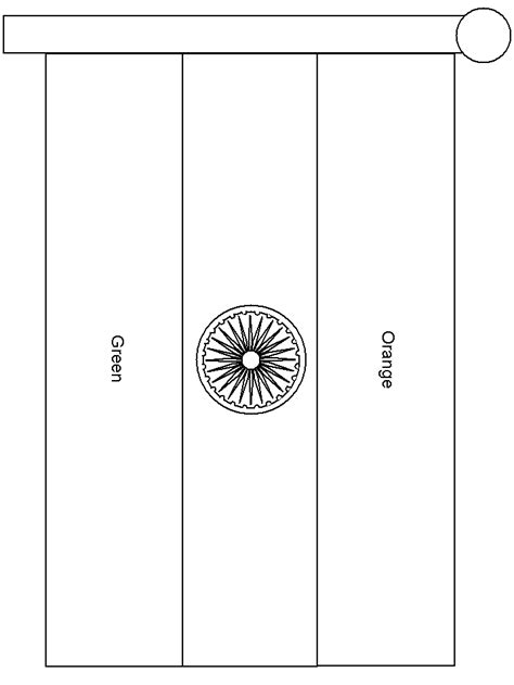 india flag countries coloring pages coloring page book
