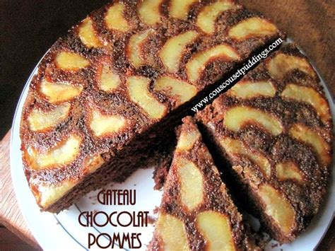 dessert pomme chocolat rapide