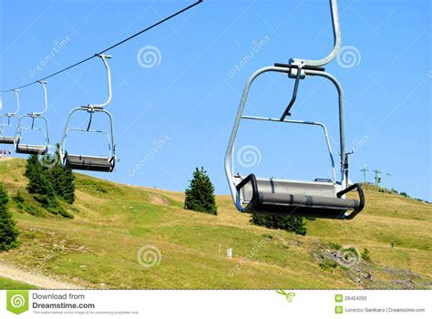 mountain chair lift stock photography image 26404292