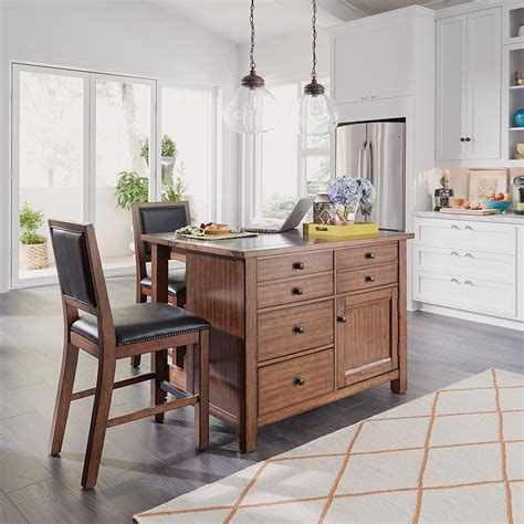 granite top island kitchen table 2018 top 10 best kitchen islands carts centers utility 6896