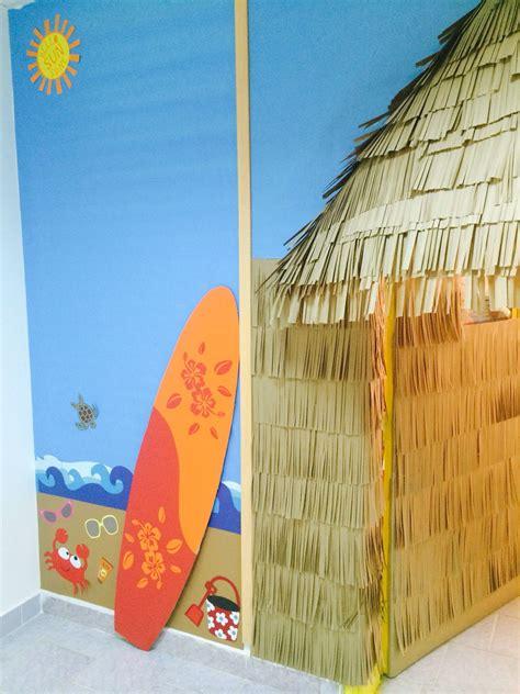 Tiki Hut Decoration Ideas by Tiki Hut Classroom Door And Wall Decor Bulletin Board