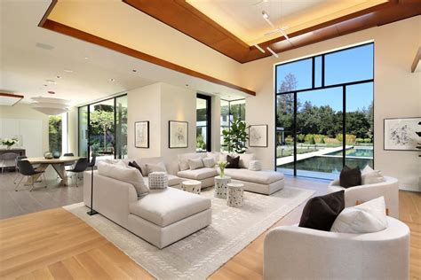 sophisticated contemporary estate  california