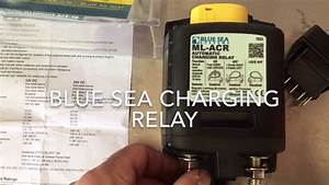 Sprinter Van Blue Sea Charging Relay Install