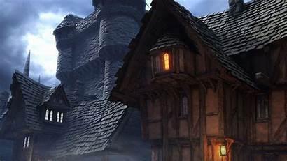 Medieval Wallpapers Backgrounds Village 1080p Building 3d