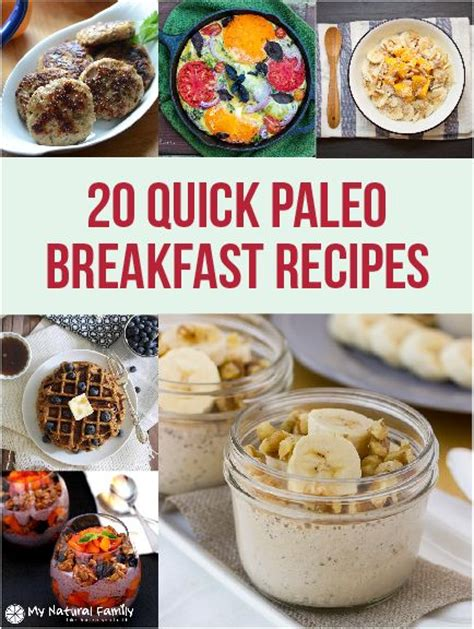 20 quick paleo breakfast ideas paleo breakfast