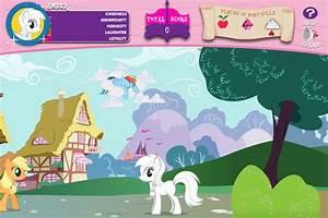 Hub Network My Little Pony Games Adventures In Ponyville