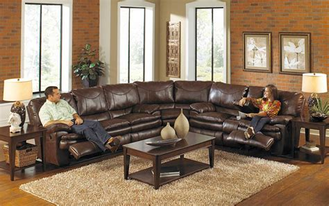 Recliner Sectional Sofas by Catnapper Perez Power Reclining Sectional Sofa Set