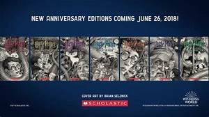 Seven New 'Harry Potter' Covers Unveiled for 20th ...