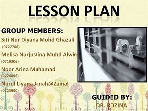 Lesson Plan - Reading Skill