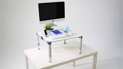 bureau pour travailler debout un bureau modulable pour travailler debout et assis rtbf