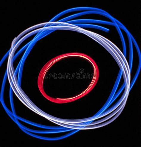 red white and blue lights red white and blue lights stock image image of white