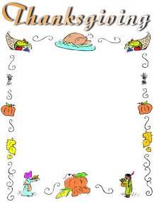 Free Thanksgiving Flyer Borders