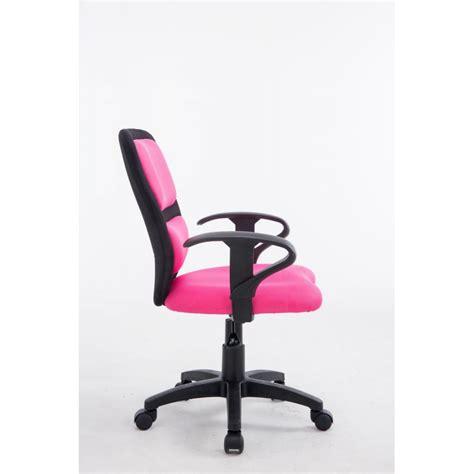fauteuil chaise de bureau pour enfant avec accoudoirs en tissu maille hauteur r 233 glable