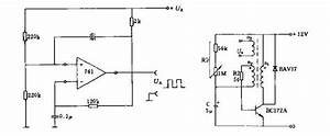 R C Oscillator Circuit Diagram