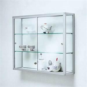 Nachttisch Hängend Ikea : glasvitrine abschlie bar mit wandvitrine aus aluminium f r wohnzimmer wandgestaltung ~ Markanthonyermac.com Haus und Dekorationen