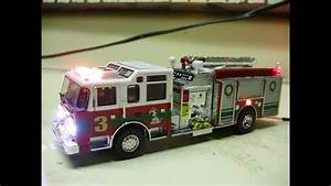 Custom Code 3 Collectibles Pierce Pumper Fire Truck W