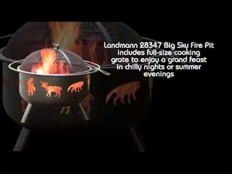 landmann big sky pit landmann 28347 big sky pit wildlife black avi 8880
