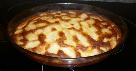 recette flan aux poires