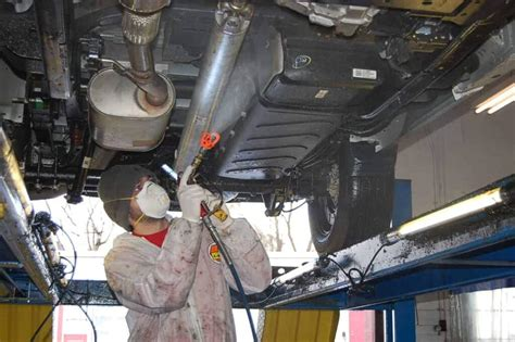 undercoating spray vehicle oil nh bad services rusty rust undercarriage corrosion inc cons pros
