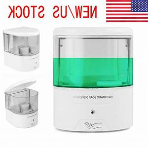 800ml Hands Free Automatic Soap Dispenser Touchless Liquid
