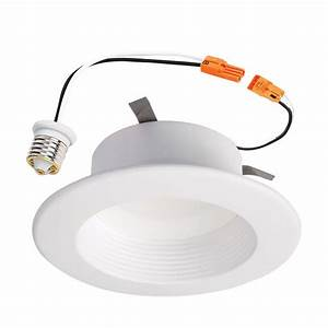 Halo in white recessed lighting baffle and trim w