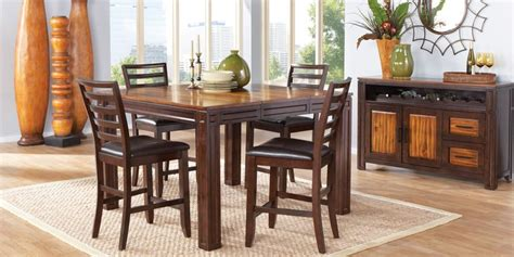 counter height dining room sets  sale