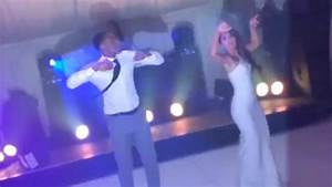 Leroy Fer Shows Off His Dancing Skills With His New Wife At His Wedding Daily Mail Online