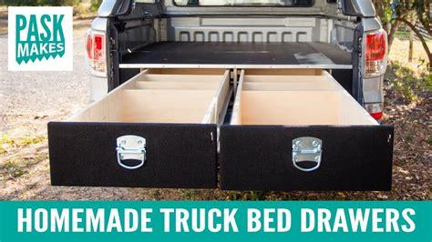 platform beds truck bed drawers