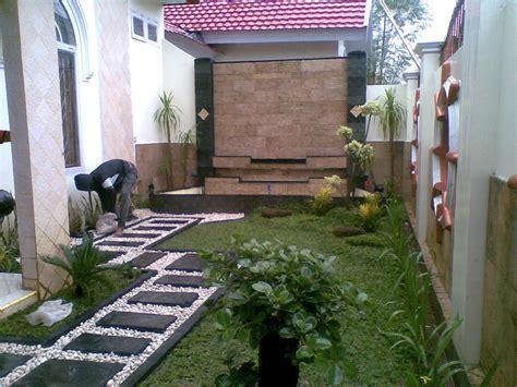 desain taman belakang rumah minimalis klasik