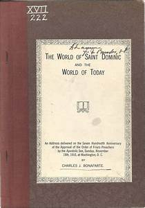 Historical catholic and dominican documents special for Documents of american catholic history
