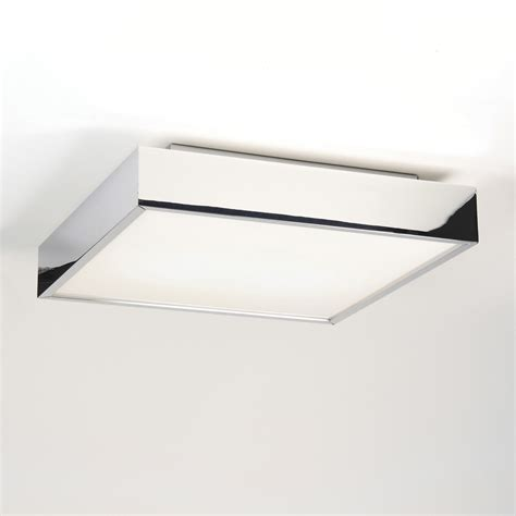 square led ceiling lights astro taketa 7159 led square bathroom ceiling light 17 7w