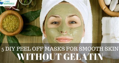 diy peel  masks  smooth skin  gelatin