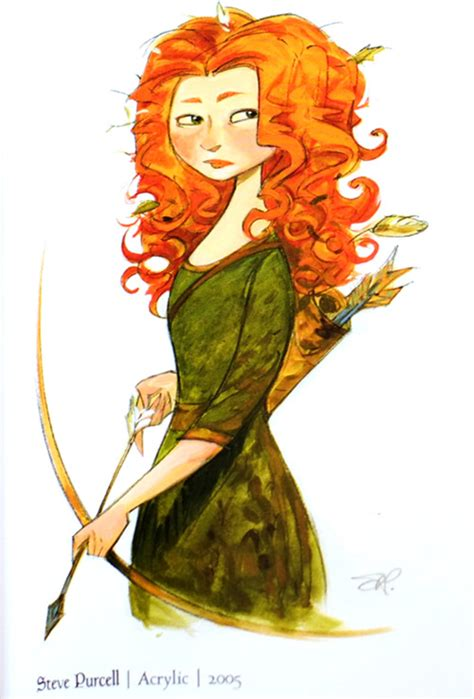 Fashion and Action: BRAVE - Concept & Production Art Gallery