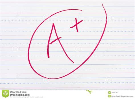 good grades stock photography image